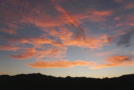 朝焼け雲11月9日6時46分 DSC00062