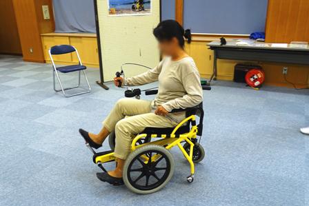 足こぎ車椅子 DSC01839