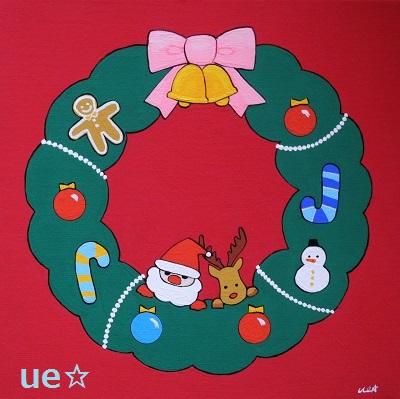 クリスマス(リース) - コピー