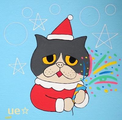 クリスマス(ネコ) - コピー