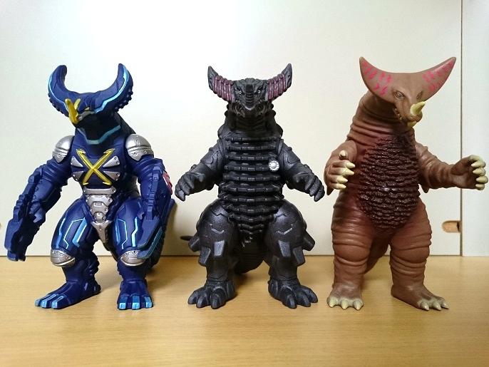 ウルトラ怪獣X メカゴモラ3