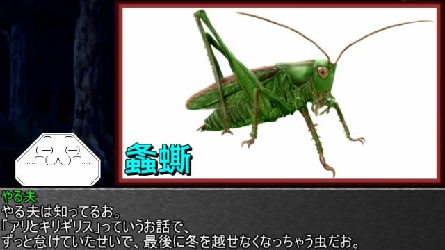 ゆっくり霊夢とやる夫が学ぶ 昆虫大百科 part25