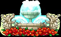 3015274ハート噴水椅子2