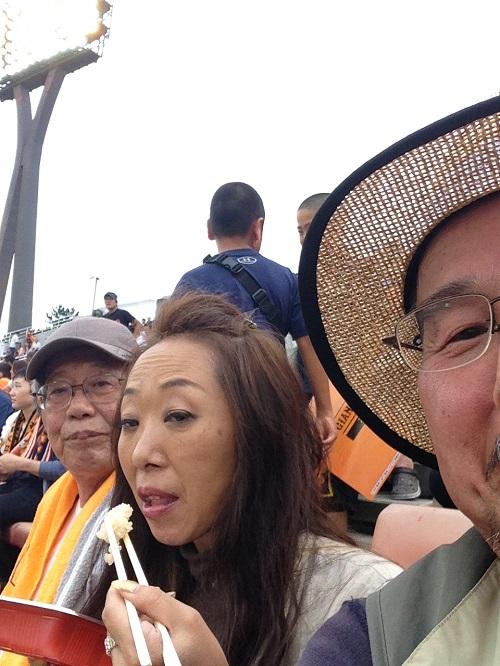 2015年野球観戦