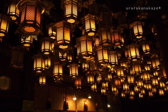 第一番札所 霊山寺 吊り灯篭