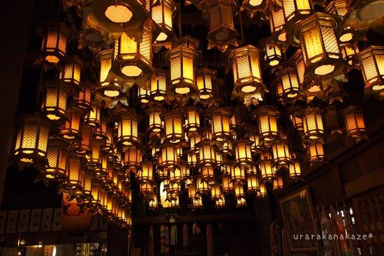 一番札所 霊山寺 吊り灯篭