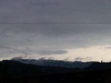 神々しい雲