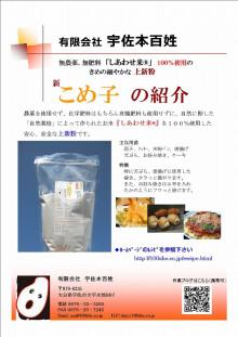 宇佐本百姓の作業日記-チラシ