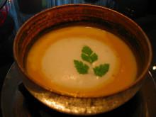宇佐本百姓の作業日記-かぼちゃのスープ