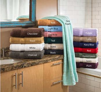 egyp towels 18 colors