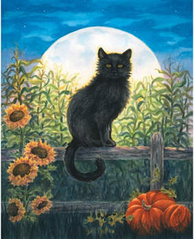 Harvest moon kitty