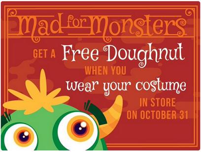 Halloween Krispy Kreme 2015