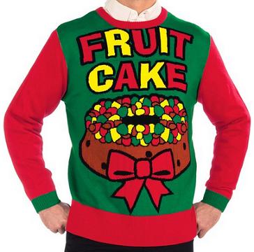 Fruit cake sweater 1130