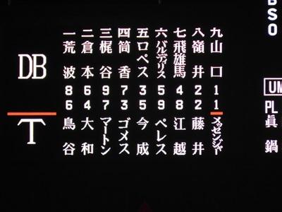 阪神vsDe3