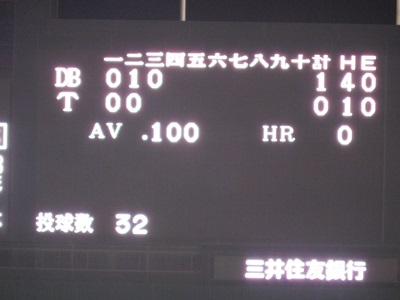 阪神vsDe4