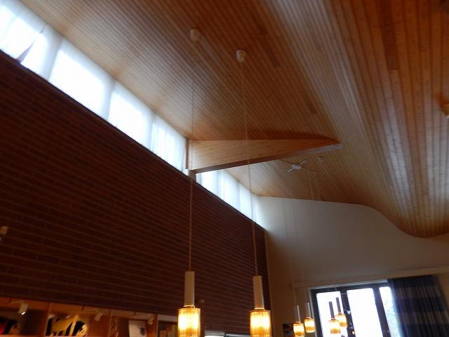 図書館天井