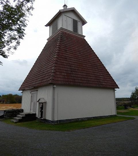 カラヤルヴィ教会時計塔