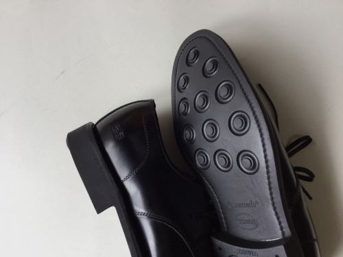 SANDERSサンダースエプロンギブソン黒BLACK01