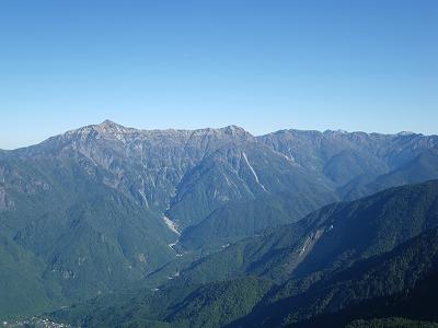 笠ヶ岳です