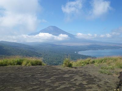 ドーンと富士山