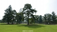 毛越寺、経楼跡から浄土庭園