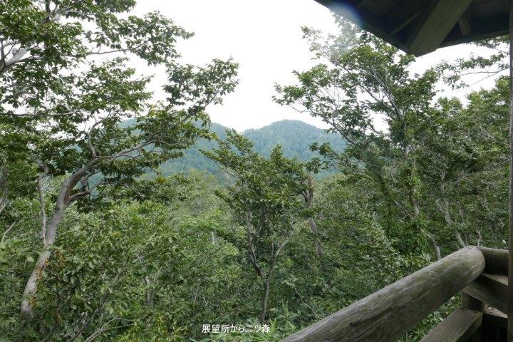展望所から二ツ森