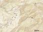 二ツ森地形図