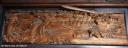 雲蝶:本堂室中の欄間の彫刻、船子得誠