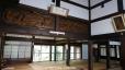 雲蝶:本堂室中の欄間の彫刻、船子得誠と夾山善会