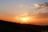 太郎平の夕陽2(クロスフィルター処理)