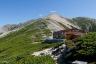 薬師岳山荘と薬師岳