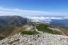 薬師岳への登りから太郎平