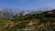 別山から立山(鏡石平)