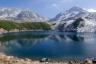 ミクリガ池に映る立山