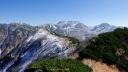 奥大日岳山頂から立山方向