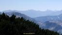 奥大日岳山頂から槍穂高方向1