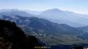 奥大日岳山頂から槍穂高方向2