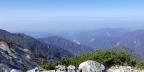 奥大日岳山頂から富山湾