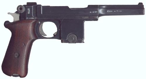 ベルクマンベアード拳銃