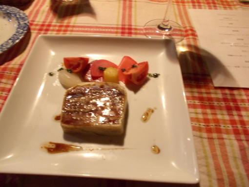 20151107_マグロと茄子のミルフィユ仕立て