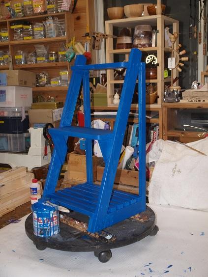 P9250025 ブルーで塗装1号