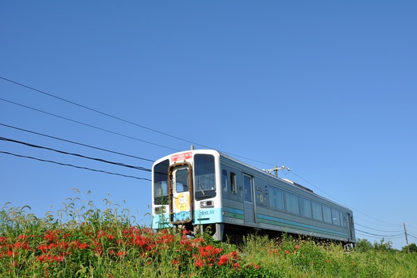 土佐くろしお鉄道 普通列車「手のひらを太陽に号」9640型