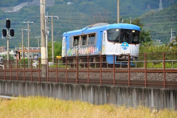 土佐くろしお鉄道 展望デッキ車両(青) 9640型