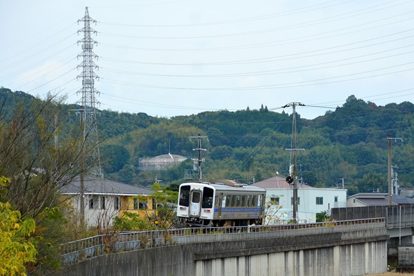 JR四国 快速(土佐くろしお鉄道の乗入れ車両) 奈半利行(後追い)