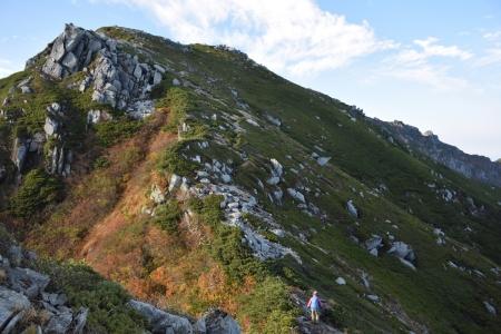 62赤薙岳へ