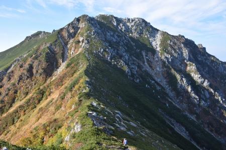 67南駒ヶ岳へ