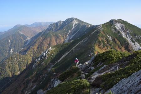 68南駒ヶ岳へ