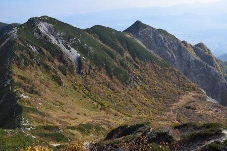 69南駒ヶ岳へ