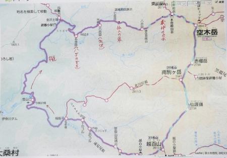 空木岳マップ1