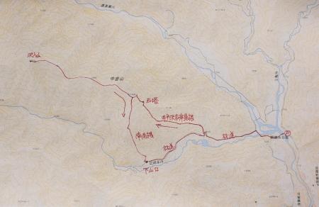 中倉山マップ